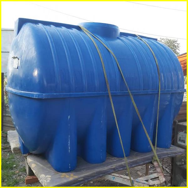 Bồn nước nhựa 2000 lít cũ - Bồn nước 2 khối