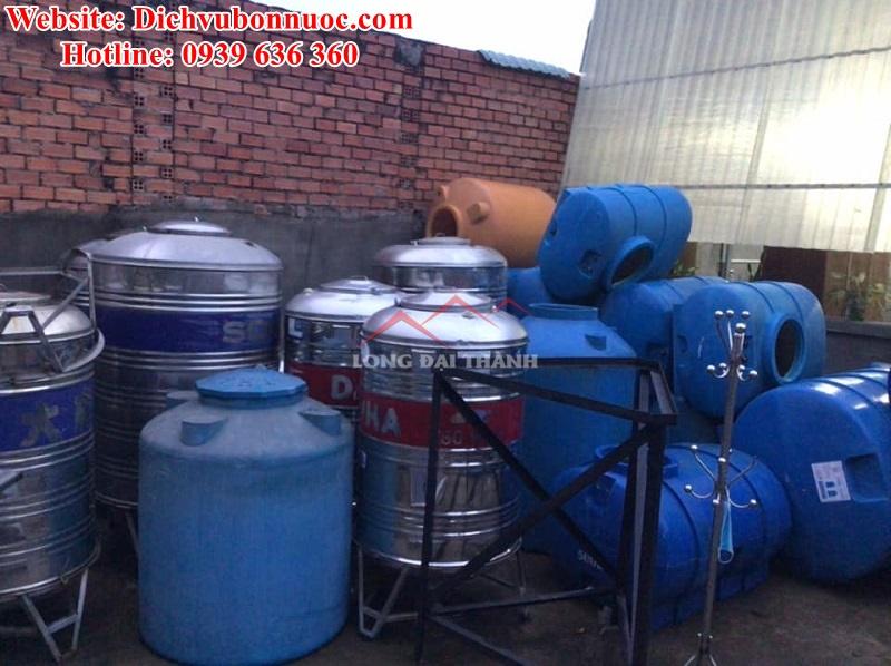 Cung cấp bồn nước đủ loại dung tích - lựa chọn tùy ý theo ý muốn quý khách