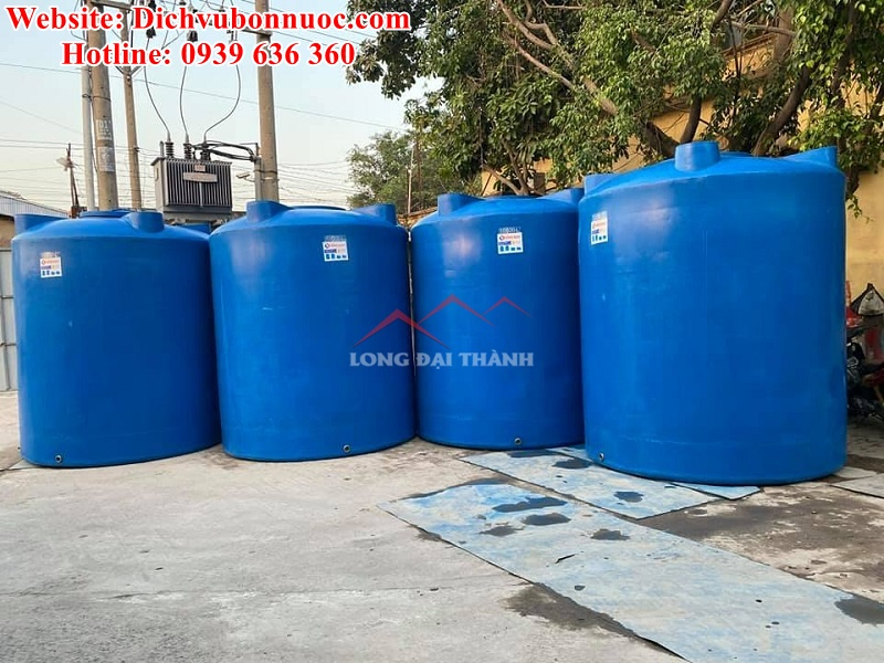 Bồn nước nhựa cũ chất lượng cao