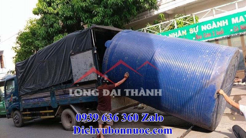 Báo giá và quy trình thu mua bồn nước cũ của Long Đại Thành