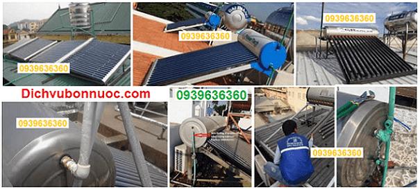 sửa máy nước nóng năng lượng mặt trời.
